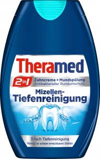 Theramed 2in1 Mizellen Tiefenreinigung Zahncreme Mundspülung 75ml