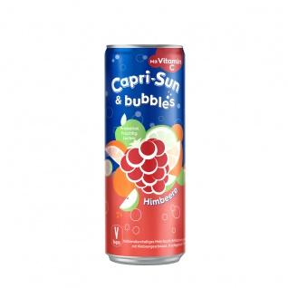 Capri Sun und Bubbles Himbeere Kohlensäurehaltiges Getränk 330ml