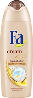 Fa Cream und Oil Shower Kakaobutter und Cocosöl 250ml 4er Pack