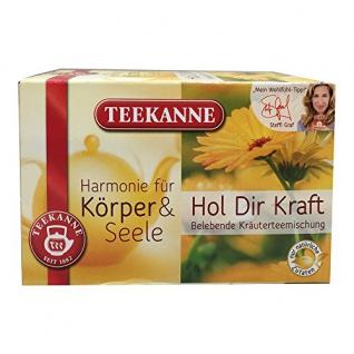 Teekanne Hol Dir Kraft Kräuterteemischung mit Honeybush 10er Pack
