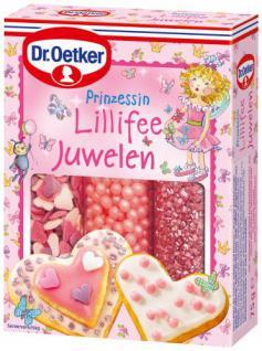 Dr. Oetker Prinzessin Lillifee Juwelen, 3er Pack (3 x 75 g)