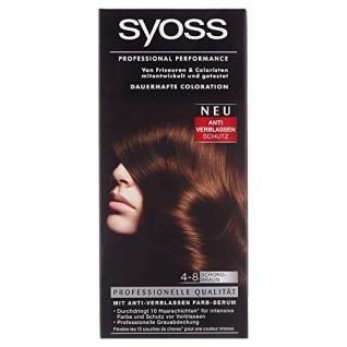Syoss Professional Performance Coloration, 4-8 Schokobraun, 1er Pack (1 Stück)