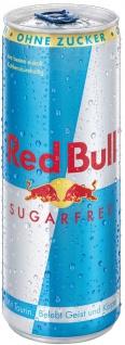 Red Bull Sugarfree koffeinhaltiges Erfrischungsgetränk 250ml 6erPack