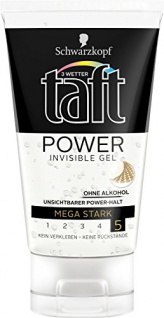 Drei Wetter Taft Invisible Power Gel, mega starker Halt, 10er Spar Pack (10 x 150 ml)