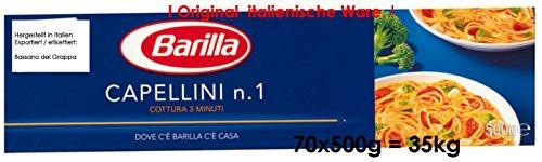 Barilla Capellini n.1 70 x 500g