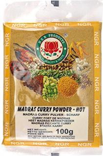 Ngr Currypulver, scharf, Madras, 3er Pack