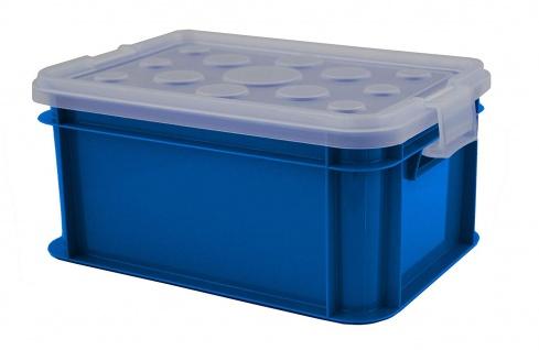 Gies Mini Box mit Deckel transparent, 11 l, Mehrfarbig, One Size