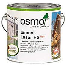 Osmo Einmal-Lasur HSPlus Fichte-Weiß seidenmatt und transaprent 2500ml
