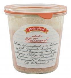 Heidehof Mettwurst gekocht