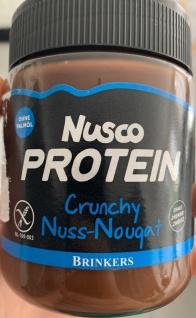 Brinkers Nusco Protein Crunchy Nuss Nougat Brotaufstrich 270g