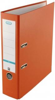 ELBA Ordner smart Pro 8cm breit DIN A4 in der Farbe orange Kunststoff