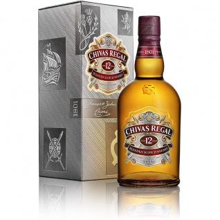 Chivas Regal 12 Jahre Blended Scotch Whisky aus Schottland 700ml