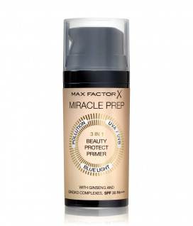 Max Factor Miracle Prep 3in1 Make up Primer Beauty Protect 30ml