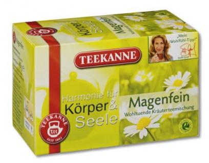 Teekanne Harmonie für Körper & Seele Magenfein Teebeutel Kräuter 40g 2er Pack