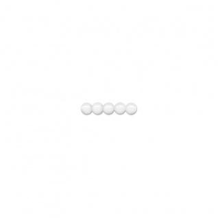 Meyco 165 Holzperlen sind schweiß und speichelfest 4mm in weiß