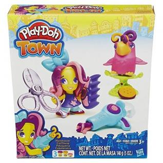Hasbro Play Doh Town Figur Friseurin mit Tierfreund Spiele und Puzzles