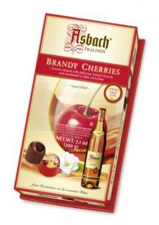 Asbach Weinbrand edele Kirschen ohne Kruste gefüllte Pralinen 200g