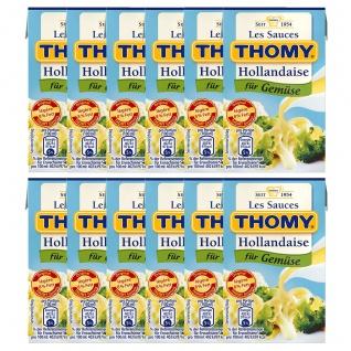 Thomy Les Sauces Hollandaise für Gemüse Fett reduziert 250ml 12er Pack