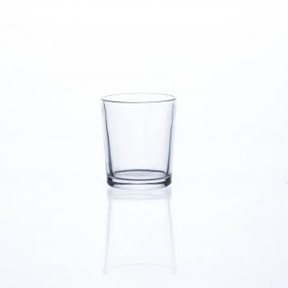 Teelichtglas Teelichthalter Sandra Rich Serie PROMO klar 6, 7 cm