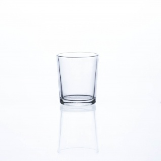 Teelichtglas Teelichthalter Sandra Rich Serie PROMO klar 7 cm