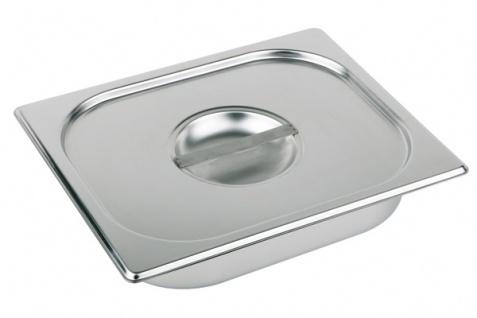 Assheuer und Pott Gastronomie Behälter Deckel aus Edelstahl mit Griff