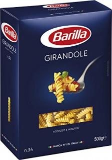 Barilla Hartweizengrieß Nudeln - 'Girandole' n.34, 2000g 4er Pack
