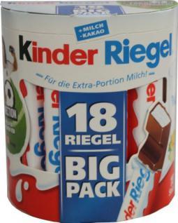 Kinder Schokoladenriegel 1 x 18 Stück - Vorschau
