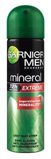 Garnier Men Deodorant Mineral Extreme - Deospray Männer 72h, 3er Pack (3 x 150 ml) - Vorschau