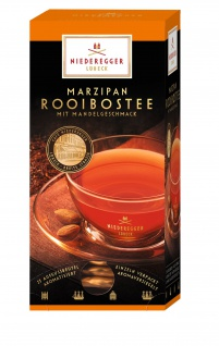 Niederegger Marzipan Aromatisierter Rooibos Tee Mandelgeschmack 44g