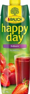 Rauch Happy Day Erdbeernektar Strawberry Nektar im Tetra Pak 1000g