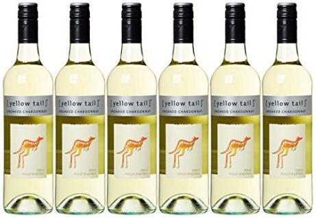 Yellow Tail Chardonnay Weißwein South Eastern Australia 750ml 6er-Pack