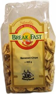 Maryland Bananen Chips geröstet und gezuckt Großpackung 500g