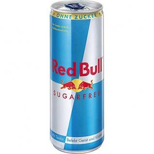 Red Bull Sugarfree koffeinhaltiges Erfrischungsgetränk 250ml