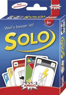 Amigo Solo 25 Jahre Ein spannendes Kartenspiel für die ganze Familie