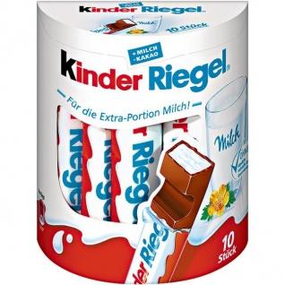 Ferrero Kinder Schoko - Riegel mit Vollmilchschokolade 2100g, 10er Packung