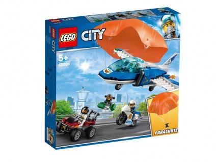 Lego City 60208 Polizei Flucht mit dem Fallschirm ab 5 Jahren