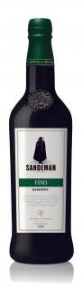 Sandeman Sherry Seco Dry Fino trockener Likörwein aus Spanien 750ml