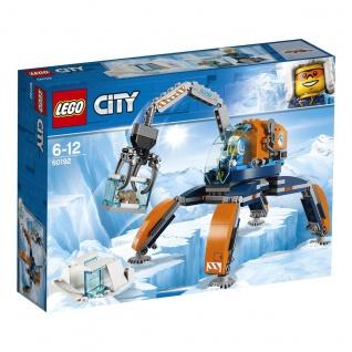 Lego City 60192 Arktis-Eiskran auf Stelzen Entdecke coole Entdeckungen