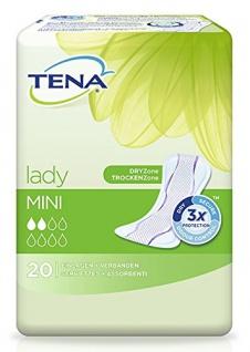 Tena Lady Mini - PZN 04433730 - (20 Stück).