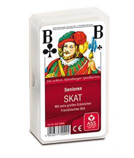 ASS Altenburger 22570009 - Senioren Skat - Französisches Bild, Kartenspiel