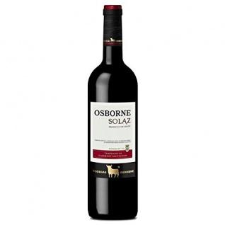 Osborne Solaz Tempranillo/Cabernet Sauvignon Trocken 4500ml, 6er Pack