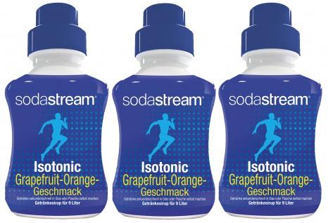 SodaStream Isotonic Grapefruit Orange Getränkesirup 375ml 3er Pack