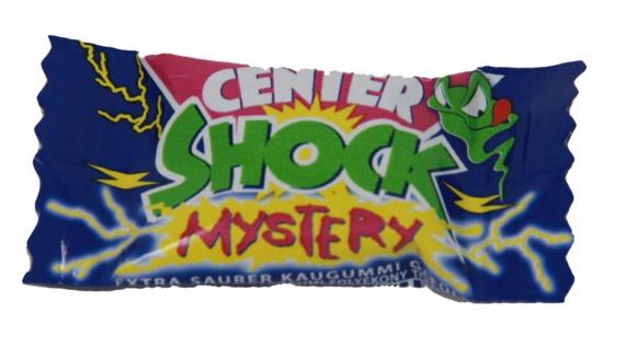 Center Shock Mystery Mix extra saures Kaugummi einzeln verpackt 4g