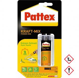 Pattex KraftMix Extreme Schnell in 1 Minute verarbeitbar 12g
