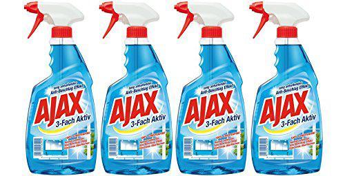 Ajax Glasreiniger mit Sprühpistole, 4er Pack (4 x 500 ml) - Vorschau