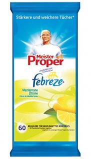 Meister Proper Reinigungstücher Citrus, 8er Pack (8 x 60 Stück)