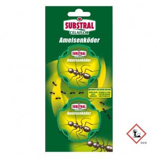Substral Celaflor Ameisen Köder in Blisterverpackung mit 2 Dosen
