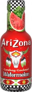 Arizona Eistee Wassermelone Erfrischungsgetränk Einwegflasche 500 ml