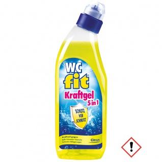 Fit WC Kraft Gel 5 in 1 Citrus mit lang anhaltender Frische 750ml