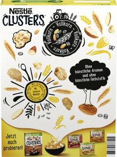 NESTLE CLUSTERS Mandel Cerealien 375g